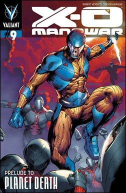X-O Manowar #9 Cover
