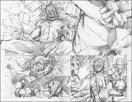 X-O Manowar #9 Preview 2 & 3