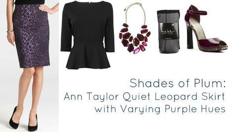 Ask Allie: Styling the Ann Taylor Quiet Leopard Print Skirt