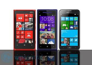 Lumia 920 Compared to HTC 8X and Samsung Ativ S