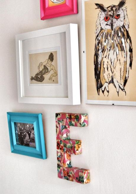 DIY tutorial Make your own wall art & DIY Tutorial: Make Your Own Wall Art - Paperblog