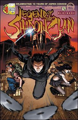 Legend of the Shadow Clan #1 Cover A