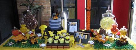Construction Themed Birthday Party By Vicky