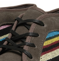 Leaves Fall, Stripes Adorn:  Vans California Guate Chukka Boot