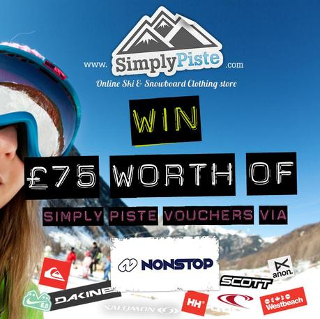 Win £75 worth of Simply Piste vouchers courtesy of Nonstop Ski & Snowboard