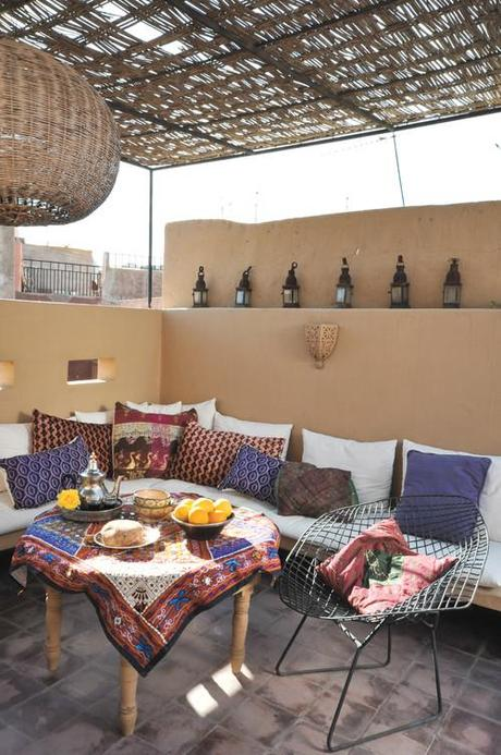 Kabash Style Outdoor Seating Area