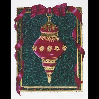 Happy Holidays! Here is the World's Most Expensive Card by Gilded Age Greetings