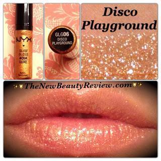 NYX Glam Gloss Aqua Luxe-Disco Playground