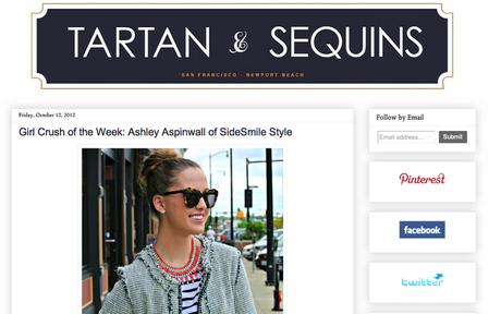 Tartan & Sequins: Girl Crush of the Week