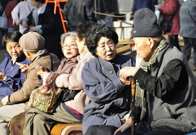 The Aging Population of Korea