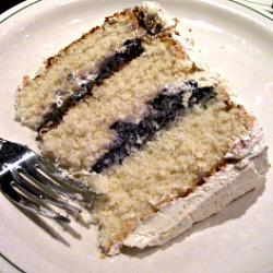 The 39 List + White Chocolate Cake with Blueberry Curd