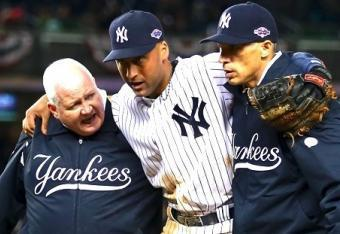 Will the Loss of Derek Jeter to a Broken Ankle Inevitably Cause The Yankees Their Playoffs?