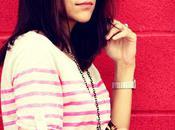 Five Ways Wear Pink Striped