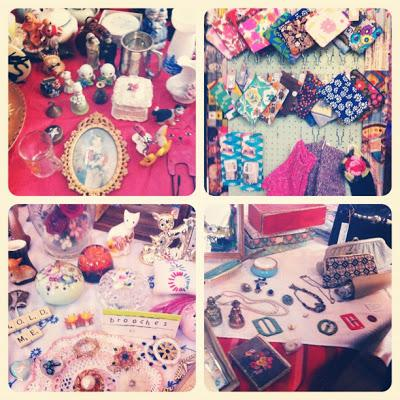 Judy's Vintage Fair; Cambridge