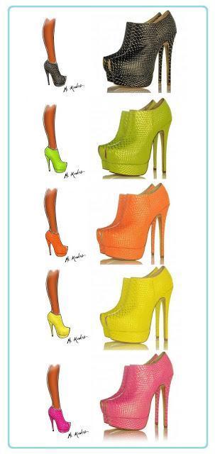 A Shoe addicts wishlist.