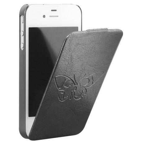 Bigben Zadig & Voltaire Black Leather Case for iPhone 4 / 4S