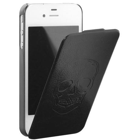 Black Leather iPhone 4 / 4S Case