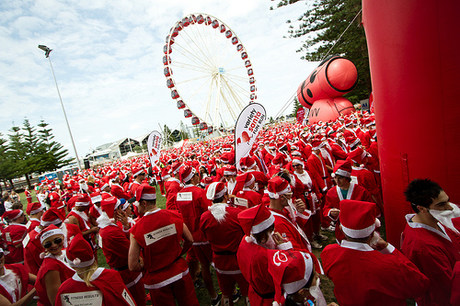 Clause for a Cause: Variety Santa Fun Run