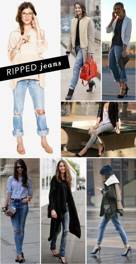 Pinterest.com - Ripped Jeans
