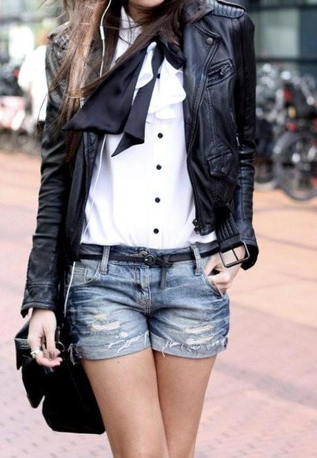 Pinterest.com - Edgy and classic combination