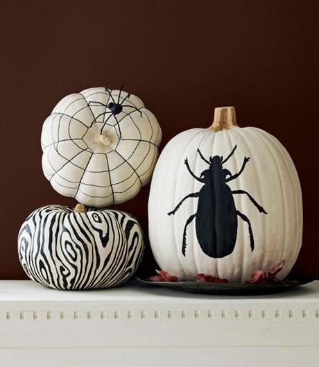 My favorite unique pumpkin decorating ideas