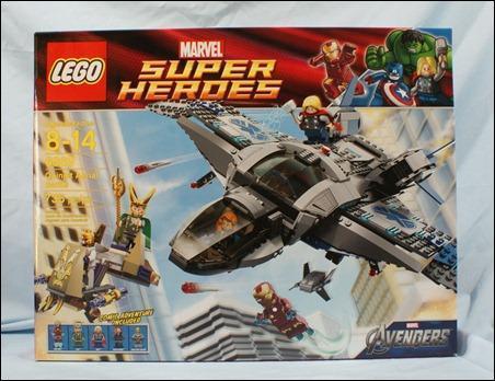 LEGO Marvel Super Heroes Quinjet Aerial Battle