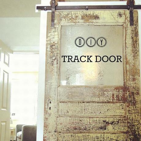 Do it yourself door track hardware tutorial
