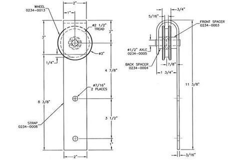 DIY door track hardware. It's d'bomb dot com.