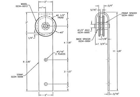 Diy Door Track Hardware It S D Bomb Dot Com Paperblog