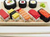 Food Meets 105: Weekend Snack? Lego Sushi