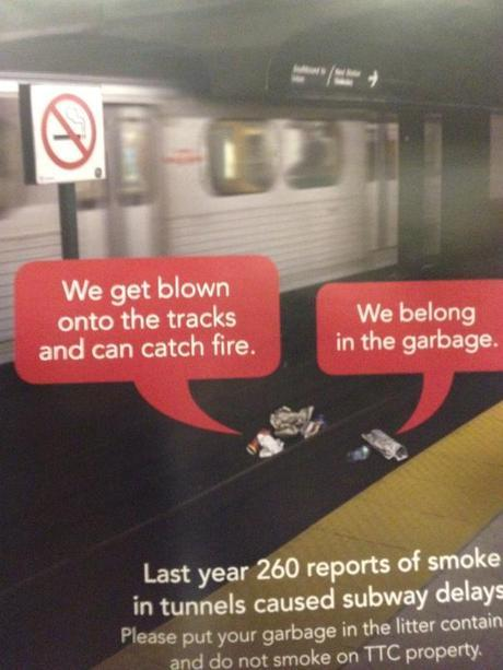 Ad Suggests Toronto Newspapers Have Low Self Esteem!