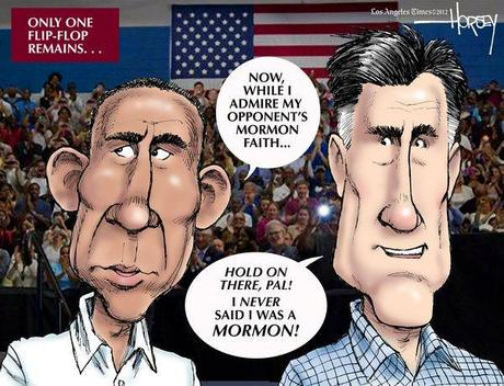 Cartoon(s) of the Week – OK, the campaign is almost over but Romney has made an impression…