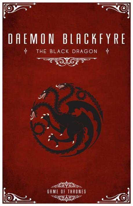 daemon blackfyre personal sigil by liquidsouldesign d5h6fjj e1350491020892 Special Sigils From the World of Game of Thrones