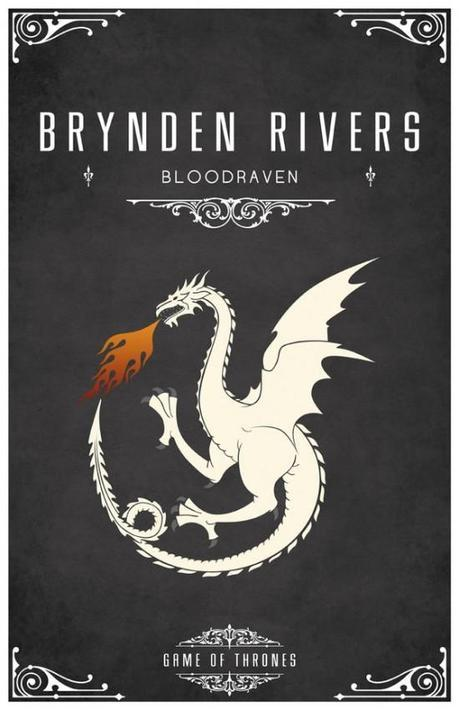 Brynden Rivers e1350491123928 Special Sigils From the World of Game of Thrones