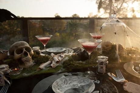 Halloween Tablescape by Style Soiree