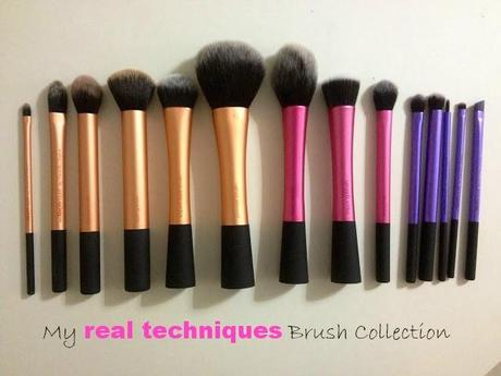 Real Techniques by Samantha Chapman ❤ Make-Up Brushes