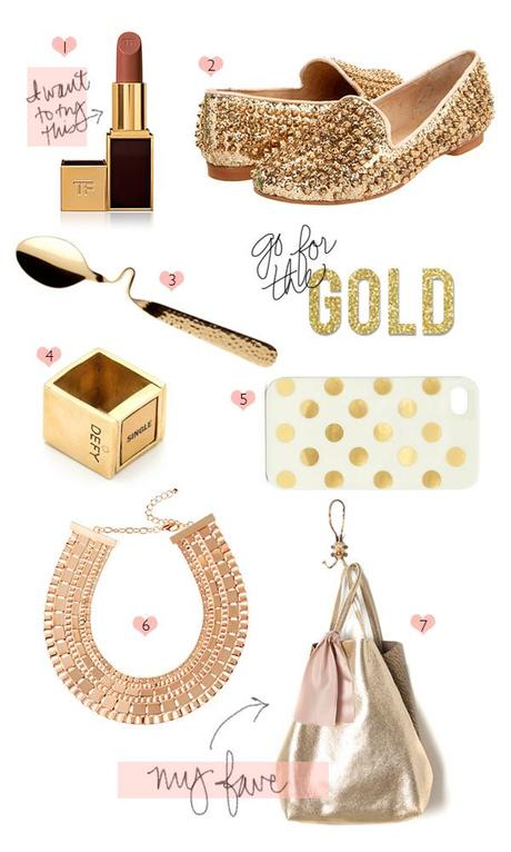 Weekend Want // Still needing gold