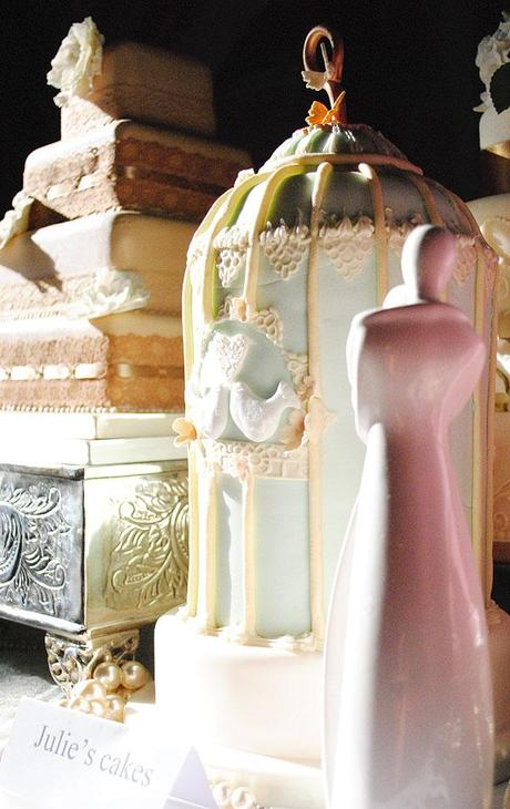 birdcage wedding cake m s new friends and creative wedding ideas paperblog 11780