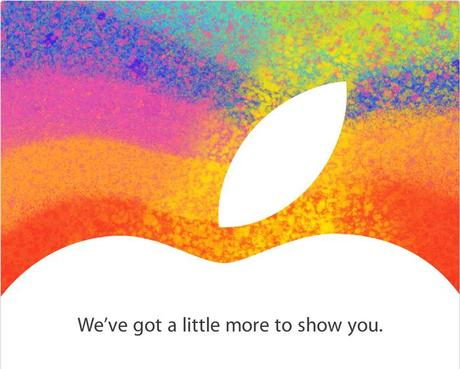 October 23rd 2012 Apple Event Invite