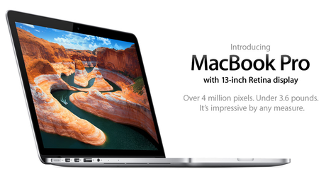 New 13-inch Retina Display MacBook Pro