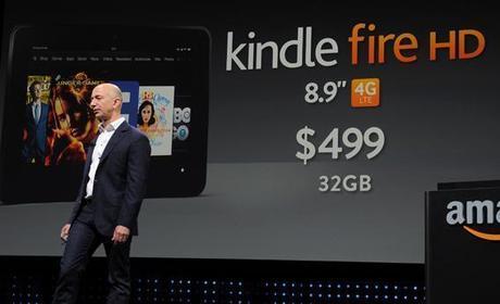 Kindle Fire HD Jeff Bezos