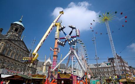 Funfair on Dam Square