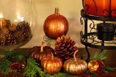 homeandgarden craftgossip com Decorating your Thanksgiving Day Table To Sparkle! HomeSpirations