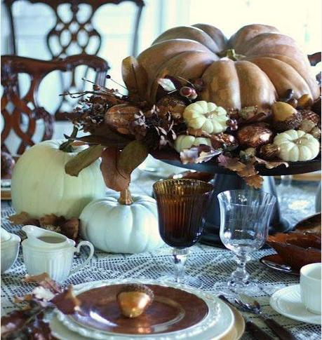 stonegableblog com Decorating your Thanksgiving Day Table To Sparkle! HomeSpirations