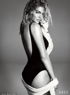 """It"" Girl Kate Upton Models for Vogue Editorial"