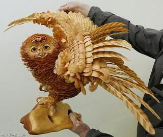Incredible artwork from wood