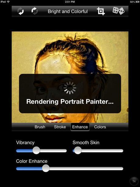 Screenshot Portrait Painter