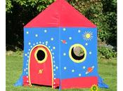 Garden Games Rocket Play Tent