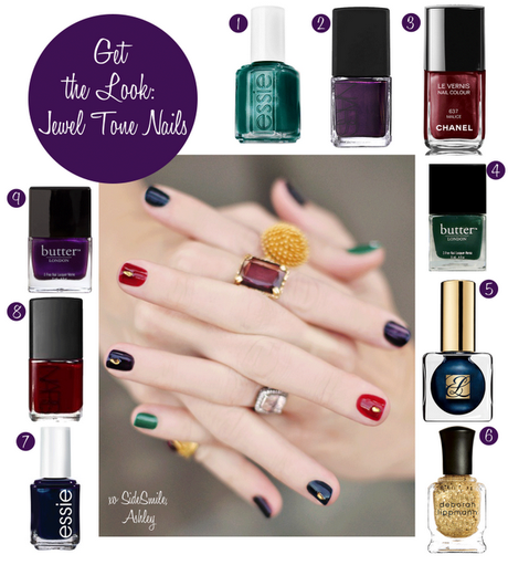 Get the Look: Jewel Tone Nails