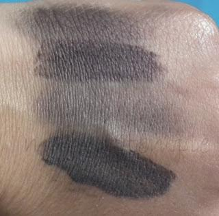Swatches:MeMeMe Cosmetics: MeMeMe Cosmetics Deadly Berry Dew Pots Swatches